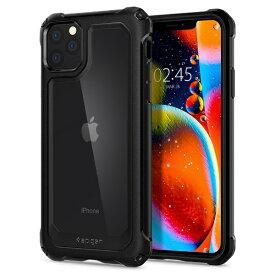SPIGEN シュピゲン SPIGEN 077CS27515 iPhone 11 Pro Gauntlet Carbon Black