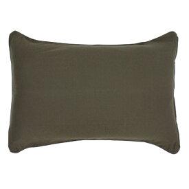 小栗 OGURI 枕カバー 綿ニットカラー 43×90cm 綿100% ブラウン NT4390-93