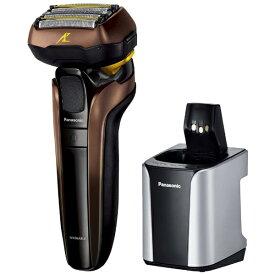 パナソニック Panasonic ES-CLV7F-T メンズシェーバー ラムダッシュ 茶 [5枚刃][電気シェーバー 男性 髭剃り]