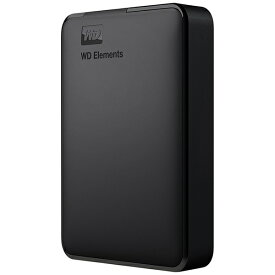 WESTERN DIGITAL ウェスタン デジタル WDBU6Y0040BBK-JESE 外付けHDD USB-A接続 WD Elements Portable [4TB /ポータブル型]
