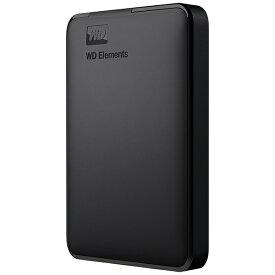 WESTERN DIGITAL ウェスタン デジタル WDBUZG0010BBK-JESE 外付けHDD USB-A接続 WD Elements Portable [1TB /ポータブル型]