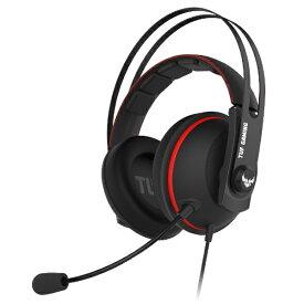 【2020年08月07日発売】 ASUS エイスース TUF GAMING H7 Core ゲーミングヘッドセット レッド [φ3.5mmミニプラグ /両耳 /ヘッドバンドタイプ]
