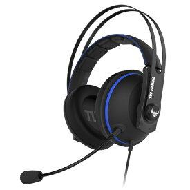 ASUS エイスース TUF GAMING H7 Core ゲーミングヘッドセット ブルー [φ3.5mmミニプラグ /両耳 /ヘッドバンドタイプ]