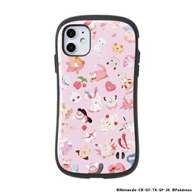 Hamee [iPhone 11専用]ポケットモンスター/ポケモン iFace First Classケース iFace ピンク/集合 41-8653-918029