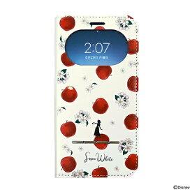 Hamee [iPhone 11/XR専用]ディズニーキャラクター/フリップ窓付きダイアリーケース 白雪姫/ガールズフラワー 669-918371