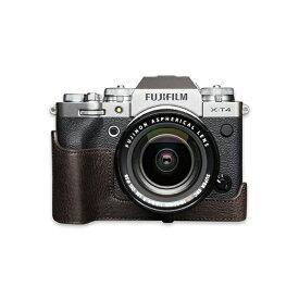 TP FUJIFILM X-T4用カメラケース ブラウン OPFXT4CO