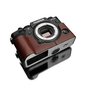 GARIZ ゲリズ FUJIFILM X-T4用カメラケース ブラウン XS-CHXT4BR