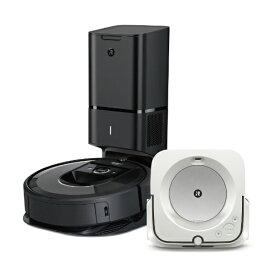 ビックカメラ限定セット ルンバ「i7+」 + ブラーバジェット「m6」セット[アイロボット ロボット掃除機 床ふきロボット]