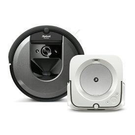 ビックカメラ限定セット ルンバ「i7」 + ブラーバジェット「m6」セット[ロボット掃除機 床ふきロボット]【rb_Roomba】