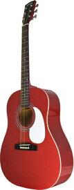 Sepia Crue セピアクルー アコースティックギター ラウンドショルダータイプ Wine Red JG10WRS.C