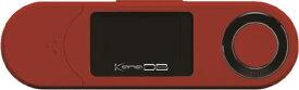 グリーンハウス GREEN HOUSE デジタルオーディオプレーヤー レッド GH-KANADBS8-RD [8GB]