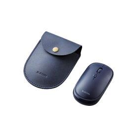 エレコム ELECOM M-TM10BBBU マウス Slint Mサイズ ブルー [BlueLED /4ボタン /Bluetooth /無線(ワイヤレス)]