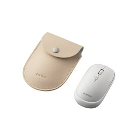 エレコム ELECOM マウス Slint Mサイズ ホワイト M-TM10BBWH [BlueLED /無線(ワイヤレス) /4ボタン /Bluetooth]【rb_pcacc】
