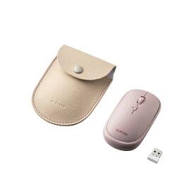 エレコム ELECOM M-TM10DBPN マウス Slint Mサイズ ピンク [BlueLED /4ボタン /USB /無線(ワイヤレス)]