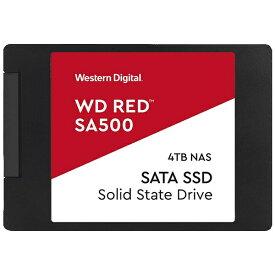 WESTERN DIGITAL ウェスタン デジタル WDS400T1R0A 内蔵SSD WD Red [2.5インチ /4TB][WDS400T1R0A]