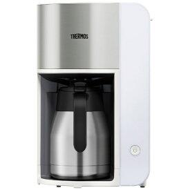 サーモス THERMOS 真空断熱ポット コーヒーメーカー ホワイト ECK-1000(WH)