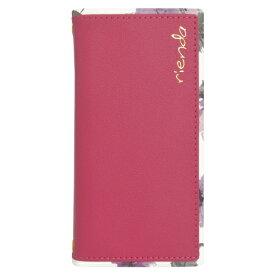エムディーシー MDC iPhone SE(2020) rienda Parm Flowerピンク md-74568-1 ピンク