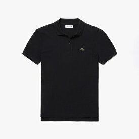 ラコステ LACOSTE レディース ポロシャツ コットン100% ピケ ポロシャツ(半袖)(38(Lサイズ)/ブラック)PF7839M