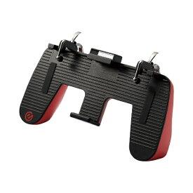 エレコム ELECOM スマホ用ゲームアクセサリ グリップ 2ボタン ダイレクトタッチアダプター付属 レッド P-GMGD2B01RD