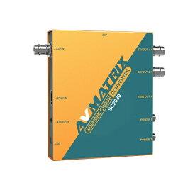 エーディテクノ ADTECHNO 3G-SDI/HDMI スケーリングクロスコンバーター AVMATRIX イエロー SC2030 [手動]
