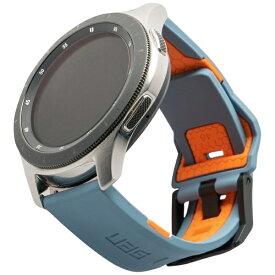 UAG URBAN ARMOR GEAR UAG社製 Galaxy Watchバンド 46mm用 CIVILIANシリーズ(スレート/オレンジ) UAG-RGWLC-S/O