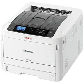 OKI オキ カラーレーザープリンター COREFIDO EX(コアフィードEX) ホワイト C835dnw [はがき〜A3][C835DNW]