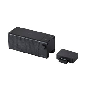 【2020年9月】 エレコム ELECOM TVスピーカー ワイヤレス 2.4GHz 手元スピーカー AFFINITY SOUND ブラック SP-TVWT01CBK [防滴]