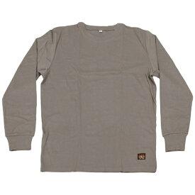 日光物産 NiKKO AX-NT1000 防炎長袖Tシャツ L グレー Armatex
