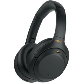 ソニー SONY ブルートゥースヘッドホン WH-1000XM4BM ブラック [リモコン・マイク対応 /Bluetooth /ハイレゾ対応 /ノイズキャンセリング対応][ワイヤレスヘッドホン]