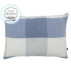 小栗 OGURI メリーナイト(Merry Night) 枕カバー 43×63cm グレーネン 綿100% 洗いざらし HP61002-72
