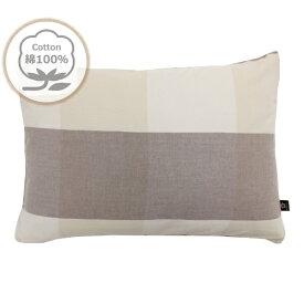 小栗 メリーナイト(Merry Night) 枕カバー 43×63cm グレーネン 綿100% 洗いざらし HP61002-93