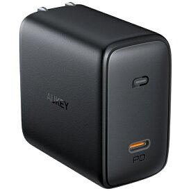 AUKEY オーキー AUKEY(オーキー) USB充電器 Omnia 100W PD対応 [USB-C 1ポート] ブラック AUKEY(オーキー) Black PA-B5-BK [USB Power Delivery対応]