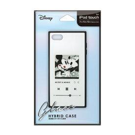PGA iPod Touch(第5/6/7世代)用 ガラスハイブリッドケース ミッキーマウス/ホワイト Premium Style ミッキーマウス/ホワイト PG-IT7DGT02MKY