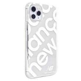 エムディーシー MDC iPhone 11 Pro New Balance スタンプロゴホワイト New Balance ホワイト md-74468-2