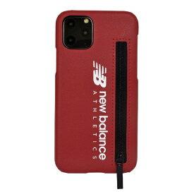 エムディーシー MDC iPhone 11 Pro New Balance ジップ付きレッド New Balance レッド md-74470-2