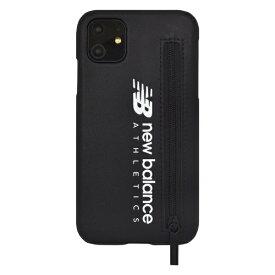 エムディーシー MDC iPhone 11 New Balance ジップ付きブラック New Balance ブラック md-74474-1
