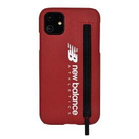 エムディーシー MDC iPhone 11 New Balance ジップ付きレッド New Balance レッド md-74474-2
