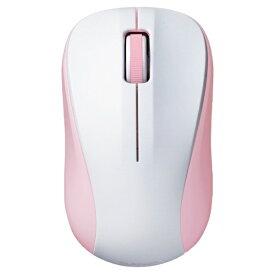 エレコム ELECOM M-BY10BRPN マウス Sサイズ ピンク [IR LED /3ボタン /Bluetooth /無線(ワイヤレス)]
