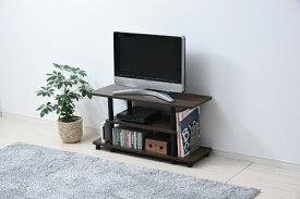 ヤマゼン YAMAZEN システムラックTV台 80cm幅 テレビ台 RYWTV-8030CWLBK