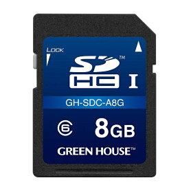 グリーンハウス GREEN HOUSE GH-SDC-A8G SDHCカード ドライブレコーダー向け [8GB /Class6]