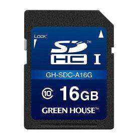 グリーンハウス GREEN HOUSE GH-SDC-A16G SDHCカード ドライブレコーダー向け [16GB /Class10]