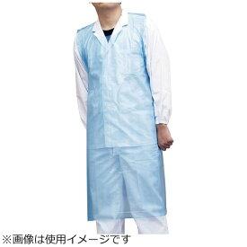パックスタイル Pack Style ポリエプロン ライト(50枚入) ブルー 517682 <SPL0801>
