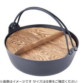 東伸販売 Toushin hanbai 五進 ジャンボ田舎鍋(鉄製) 36cm <QIN3901>