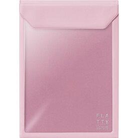 キングジム KING JIM FLATTYA5サイズ縦ピンク