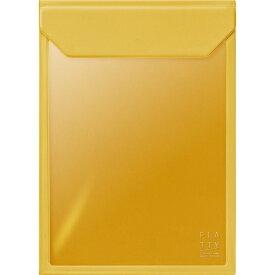 キングジム KING JIM FLATTYA4サイズ縦黄色