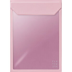 キングジム KING JIM FLATTYA4サイズ縦ピンク