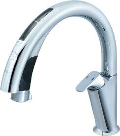 LIXIL リクシル キッチン用タッチレス水栓 ナビッシュハンズフリー(エコセンサー付) A9タイプ(寒冷地) SF-NA491SN