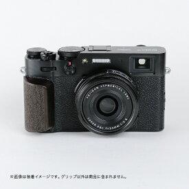 SHOTEN ショウテン カメラウッドグリップ XV-GP (FUJIFILM X100V用) ダークブラウン XV-GP