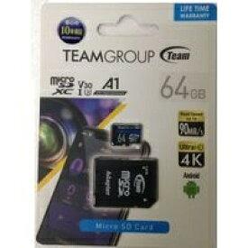 TEAM チーム microSDXCカード ELITE A1 TEAUSDX64GIV30A103 [64GB]