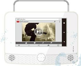 ダイアモンドヘッド Diamond Head ポータブルテレビ OVERTIME OT-WPT90AK [9V型 /防水対応]